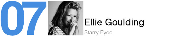 #7 Ellie Goulding - Starry Eyed